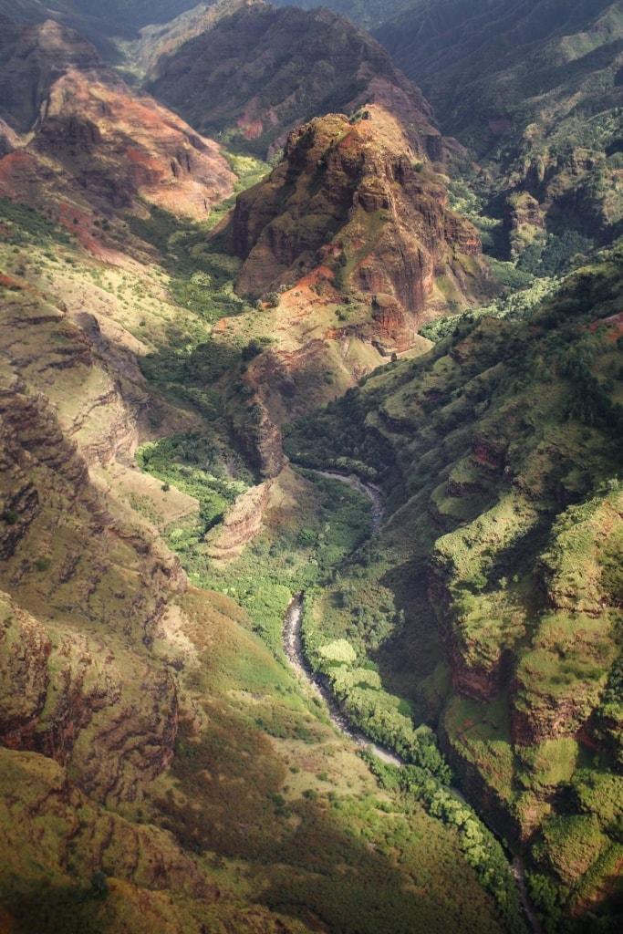 Blick in den Waimea Canyon