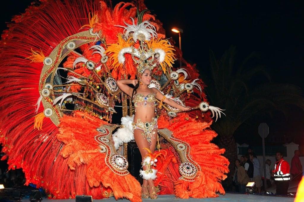 Karnevalsqueen auf Lanzarote