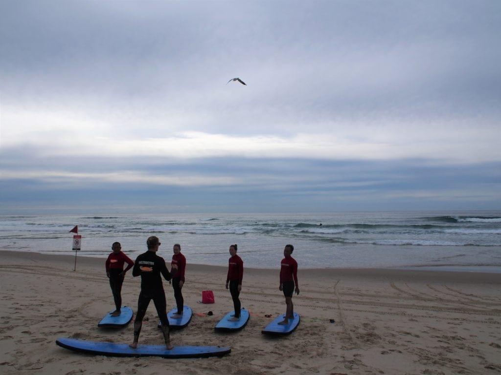 Surfen an der Gold Coast für Anfänger, Australien