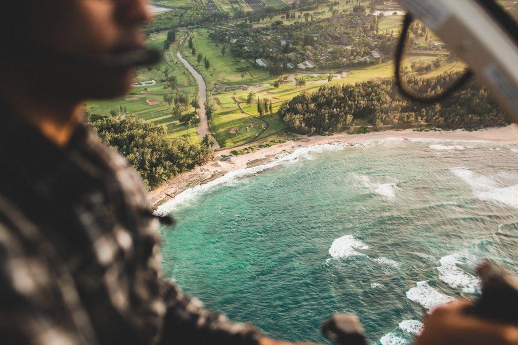 Ausblick auf Oahu eine Insel von Hawaii