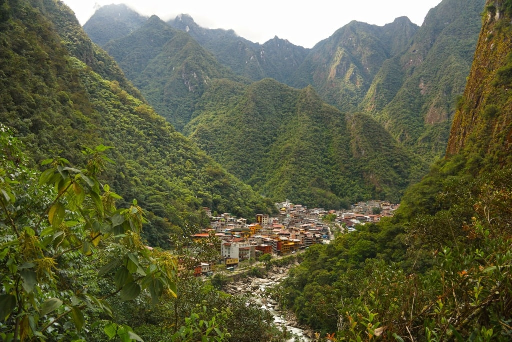 Aguas Calientes in Peru