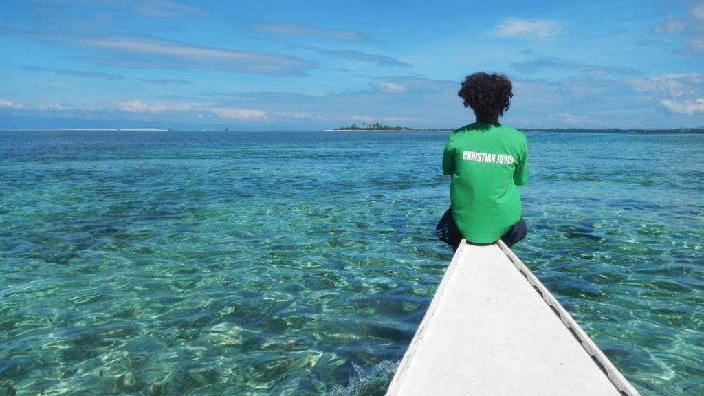 Am einfachsten kommt man auf den Philippinen mit einer typischen Bangnka umher – dem wackeligen Boot aus Bambus.