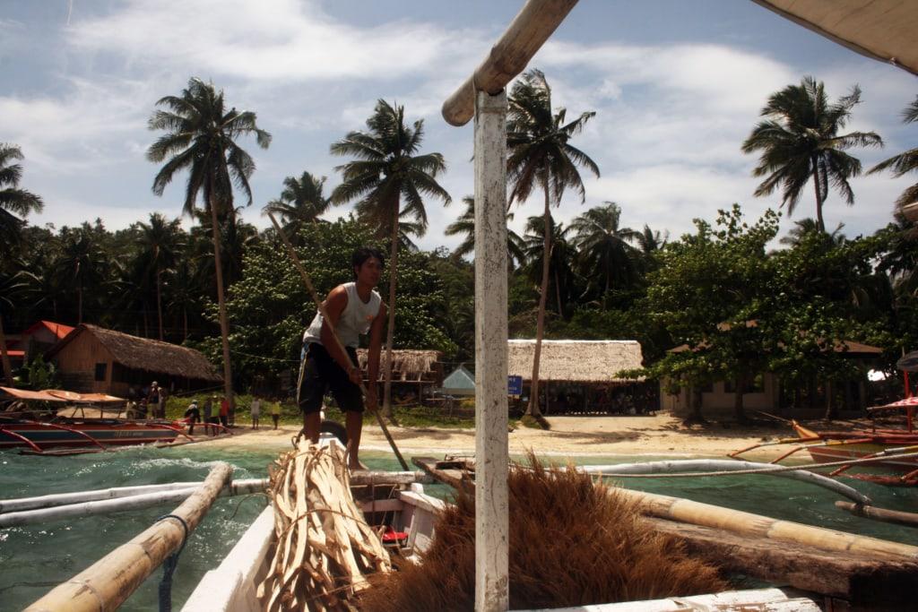 Ein Bootsfahrt ist unumgänglich bei einem Urlaub auf den Philippinen.