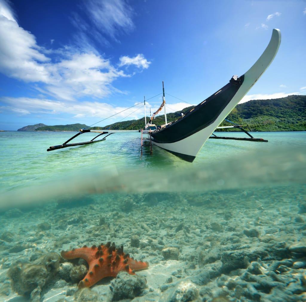 In El Nido auf Palawan erwartet einen die bezaubernde Unterwasserwelt der Philippinen.