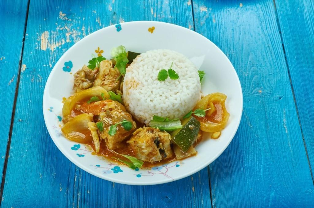 Weihnachtsessen weltweit: Fisch-Curry-Gericht auf den Seychellen