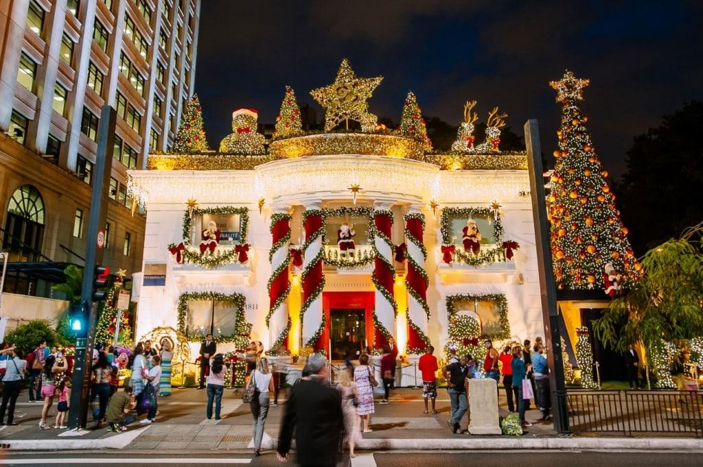 Weihnachten in Sao Paulo