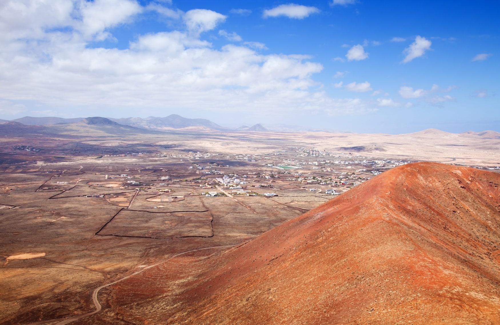 Fuerteventura, Gebirge, Insel