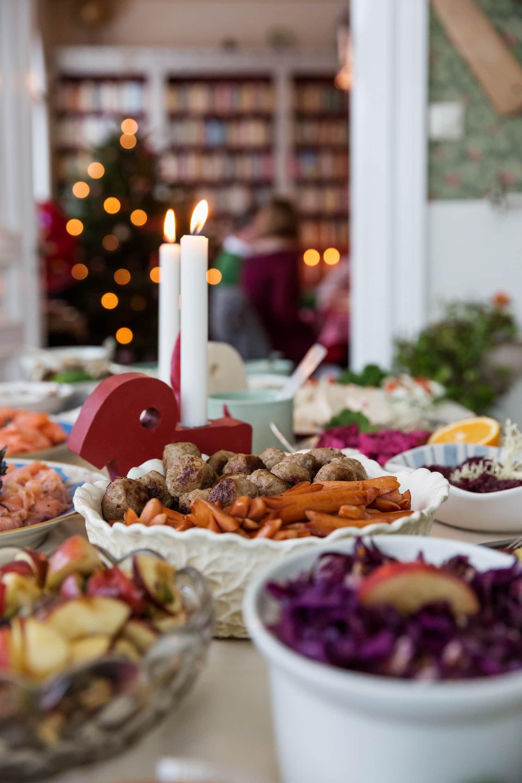Weihnachtsessen in Schweden