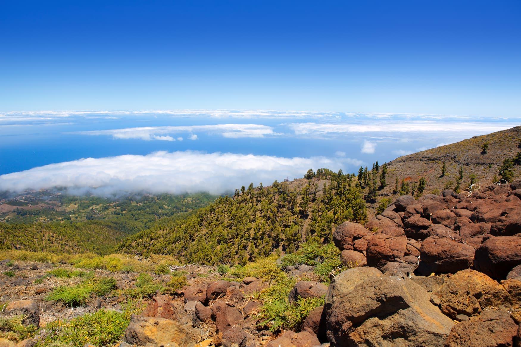 La Palma, Vulkan, Aussicht