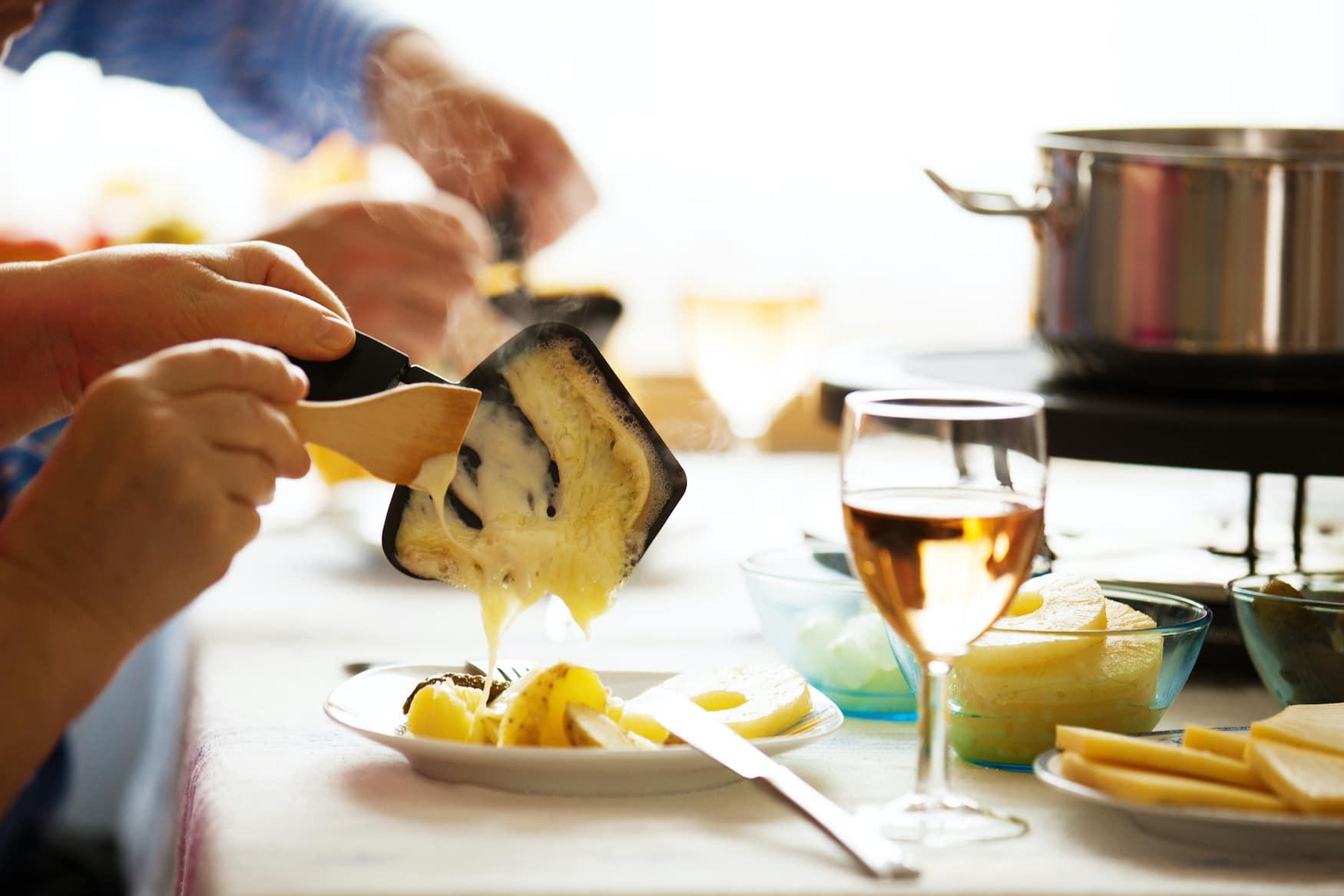 Weihnachtsdinner in den Niederlanden: Raclette