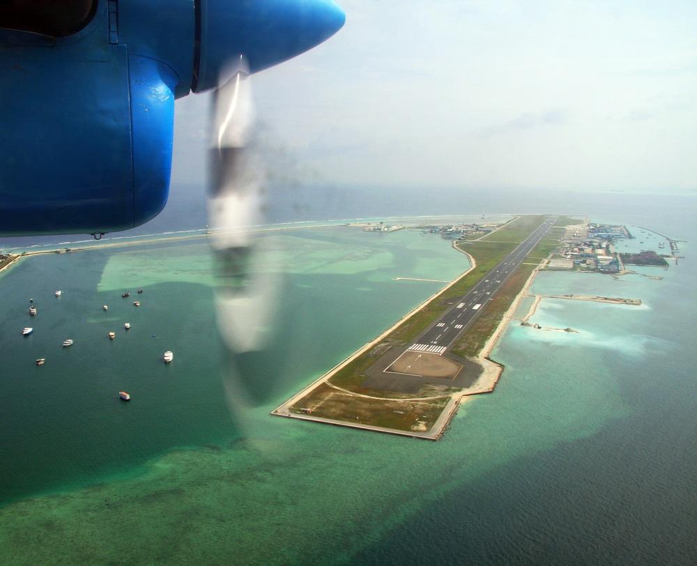 Airport Male auf den Malediven