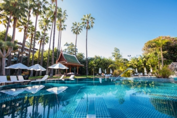 Außenpool im Hotel Botánico & The Oriental Spa Garden