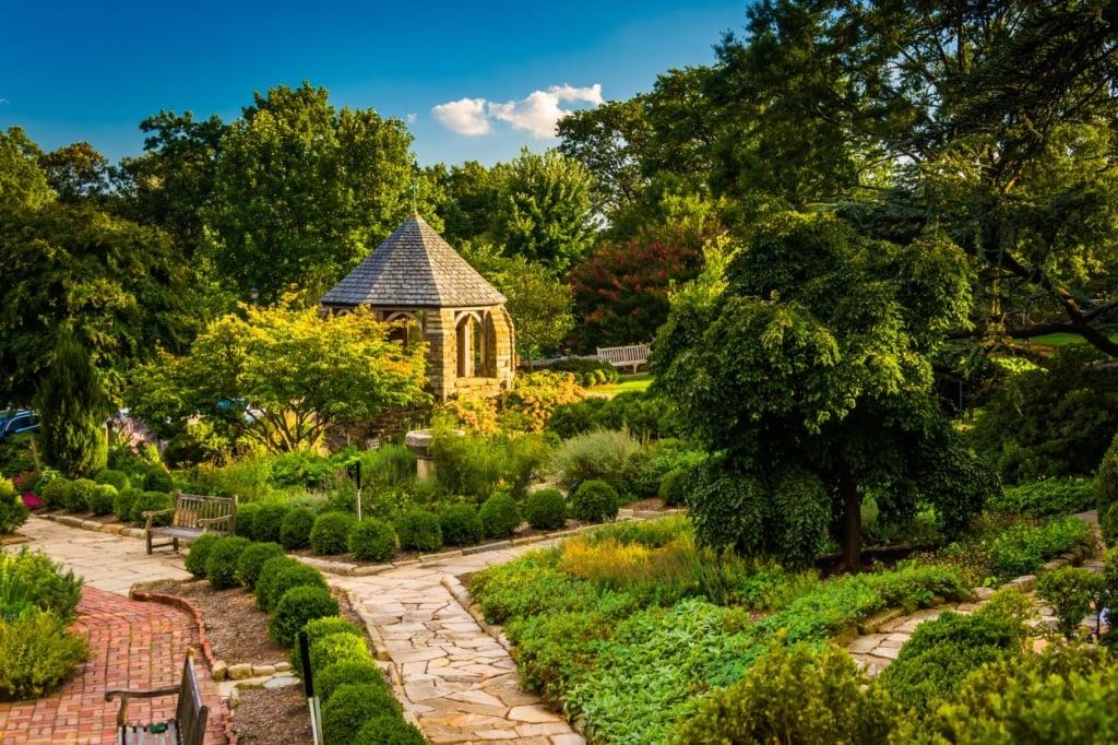 Bishop's Garden Washington DC