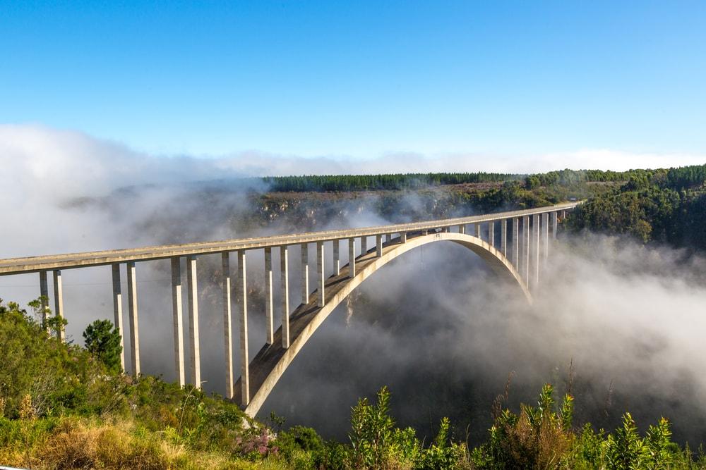 Bloukans-Brücke in Südafrika