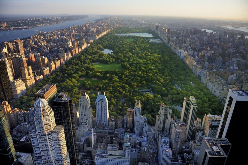 Blick auf den Central Park in Manhattan