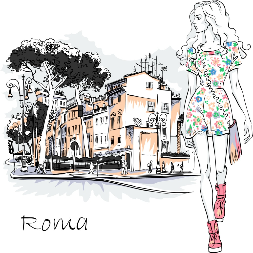 Fashion in Rome