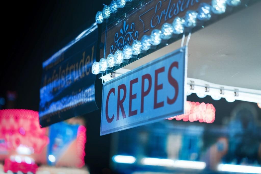 Crepes-Schild