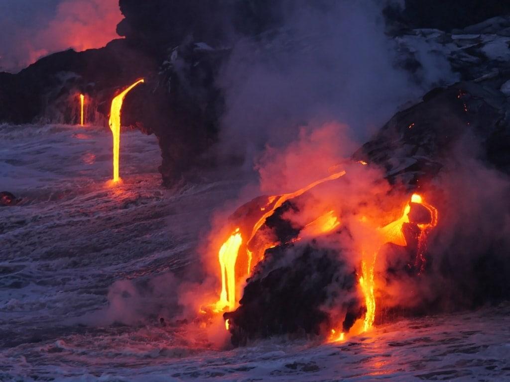 Auf Hawaii kann man Naturwunder der besonderen Art entdecken.