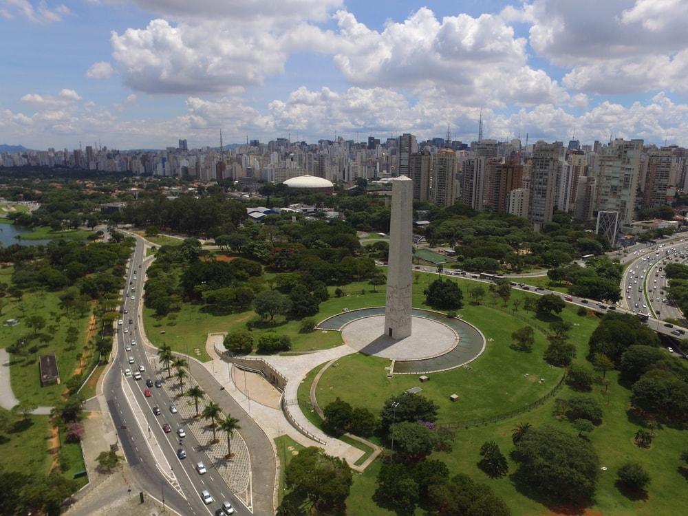 Ibipuera Park in Sao Paulo