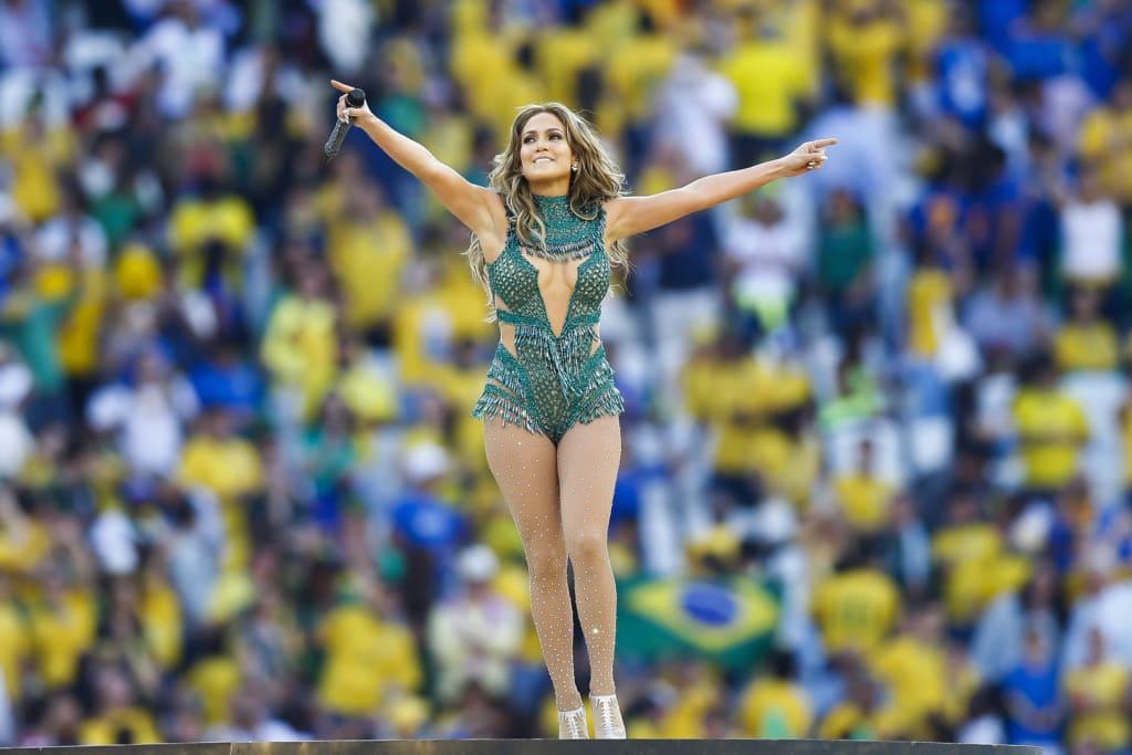 Jennifer Lopez auf der Bühne