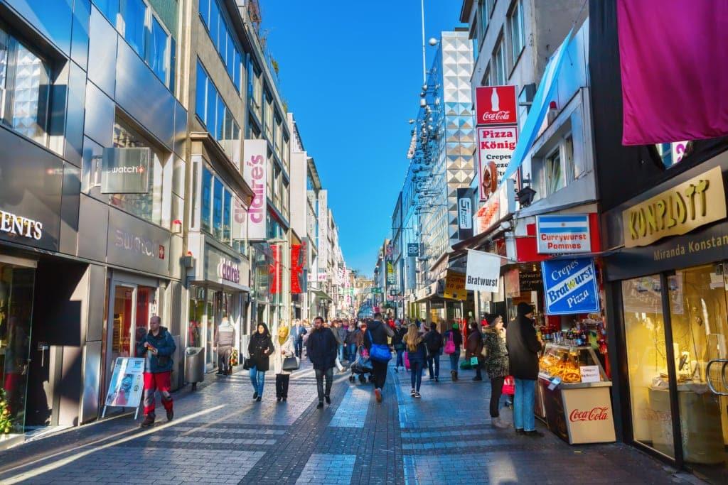 Hohe Straße in Köln