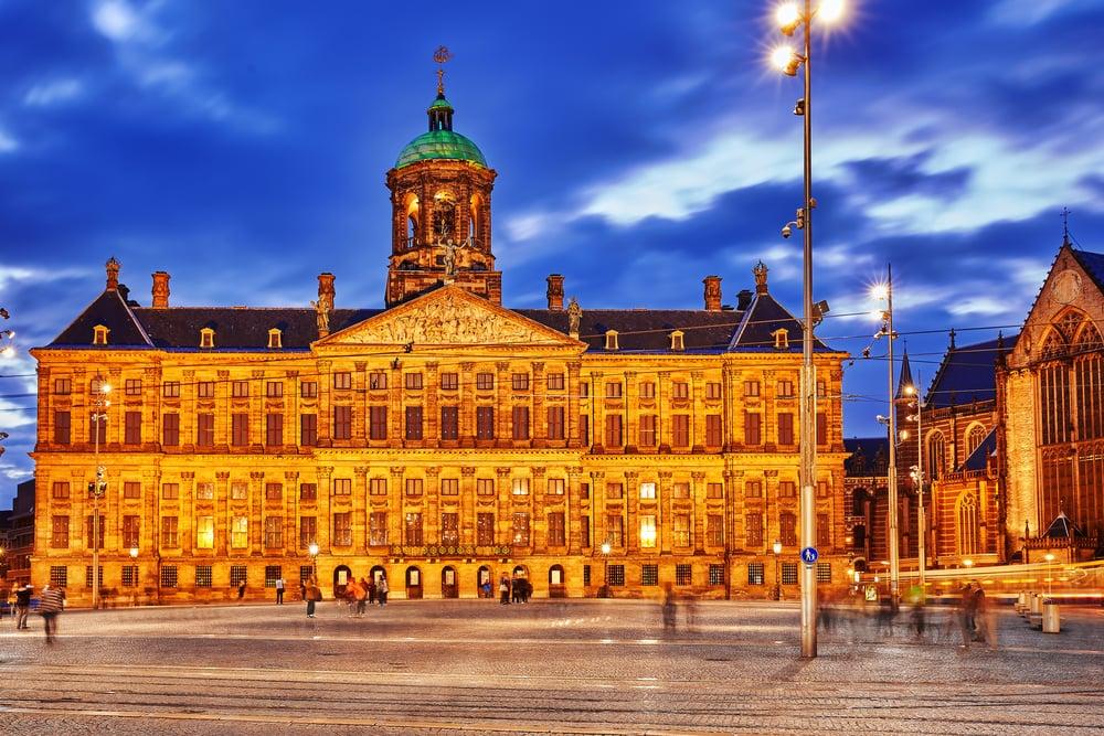 Königliche Palast in Amsterdam