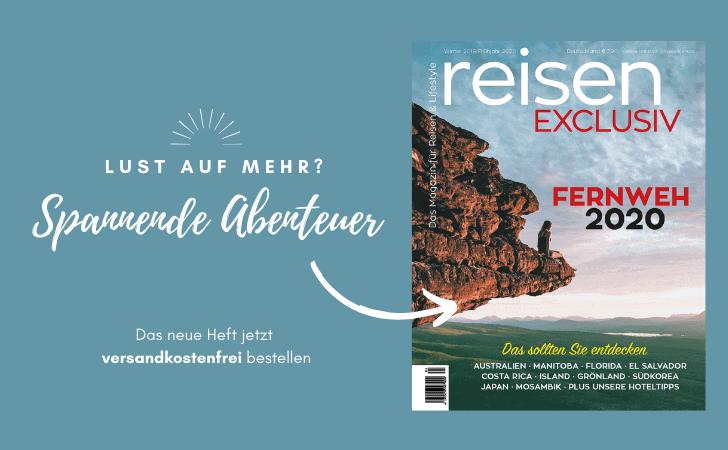 reisen EXCLUSIV - Das Travelmagazin