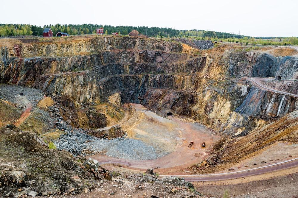 Kupferbergwerk Talun in Schweden