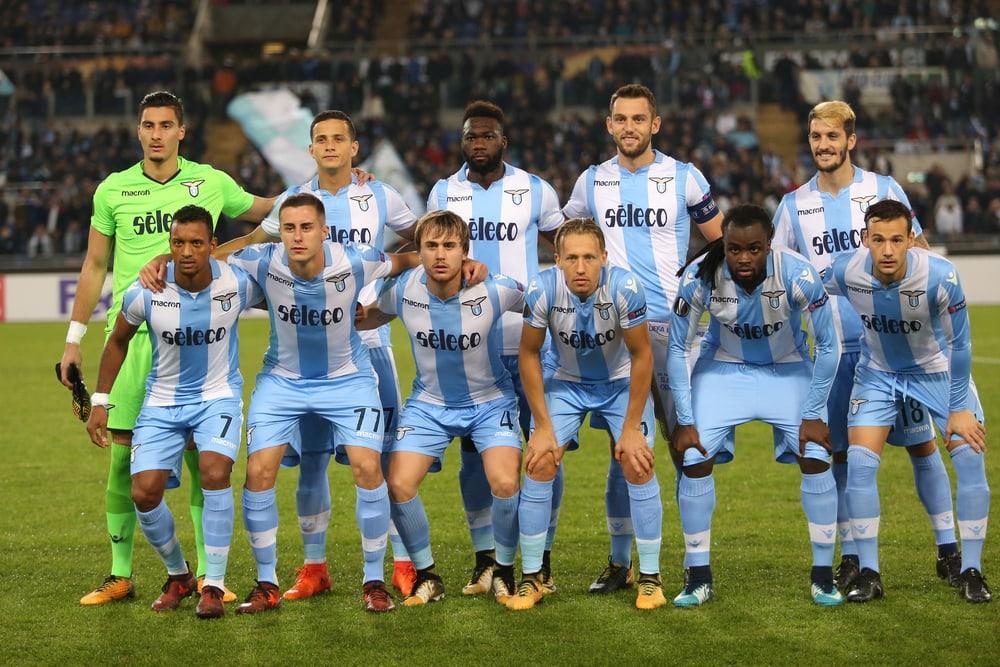 Fußballmannschaft von Lazio Rom