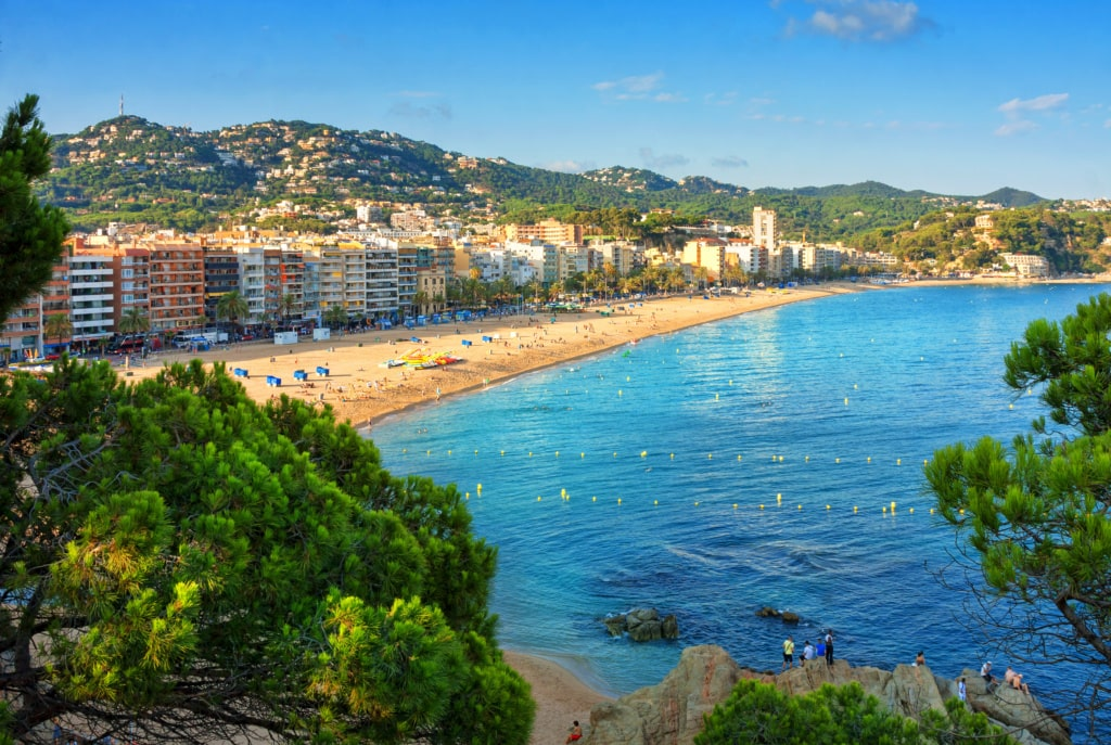 Strand in Lloret de Mar