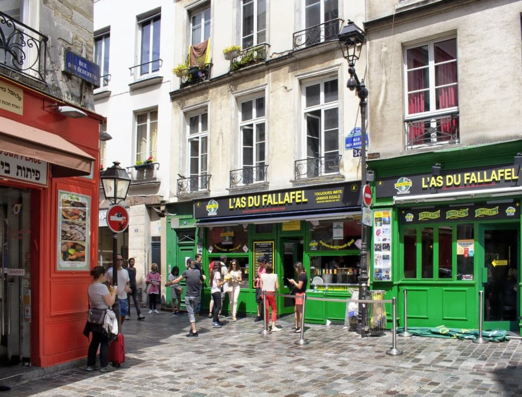 Marais-Viertel in Paris