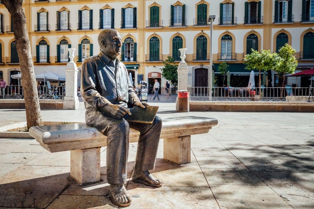 Picasso-Statue in Malaga