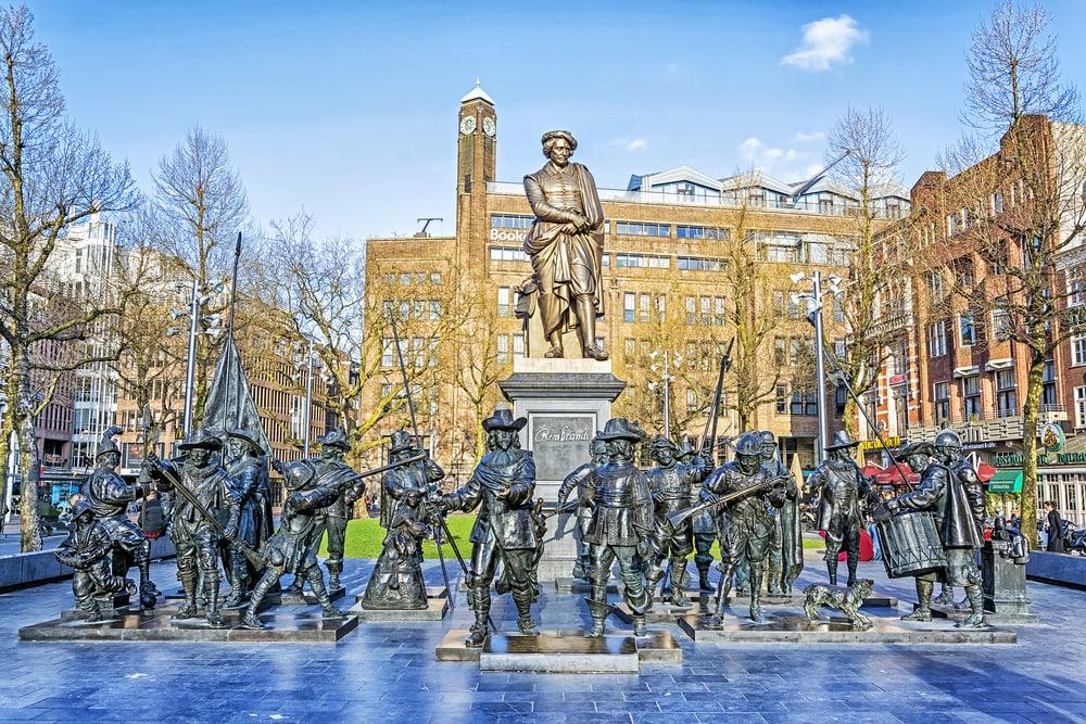 Rembrandplein in Amsterdam