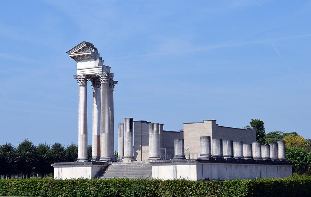 Roman Harbour Temple Xanten