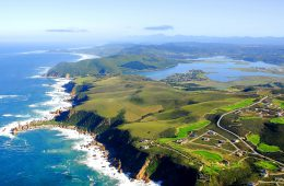 Knysna Heads entlang der Garden Route in Südafrika