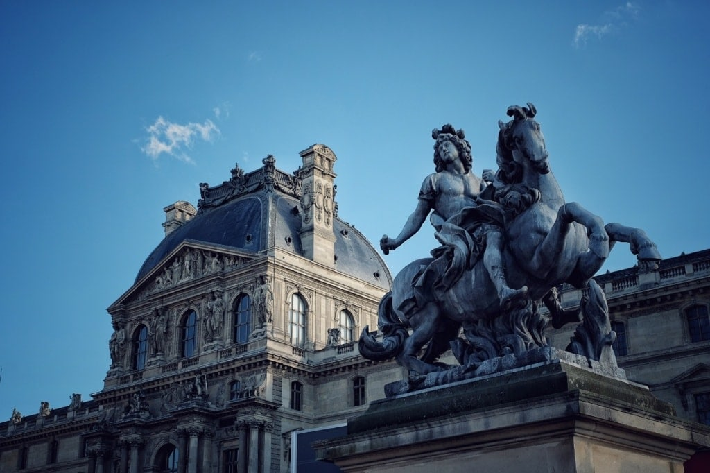Statue vom Sonnenkönig Ludwig XIV.