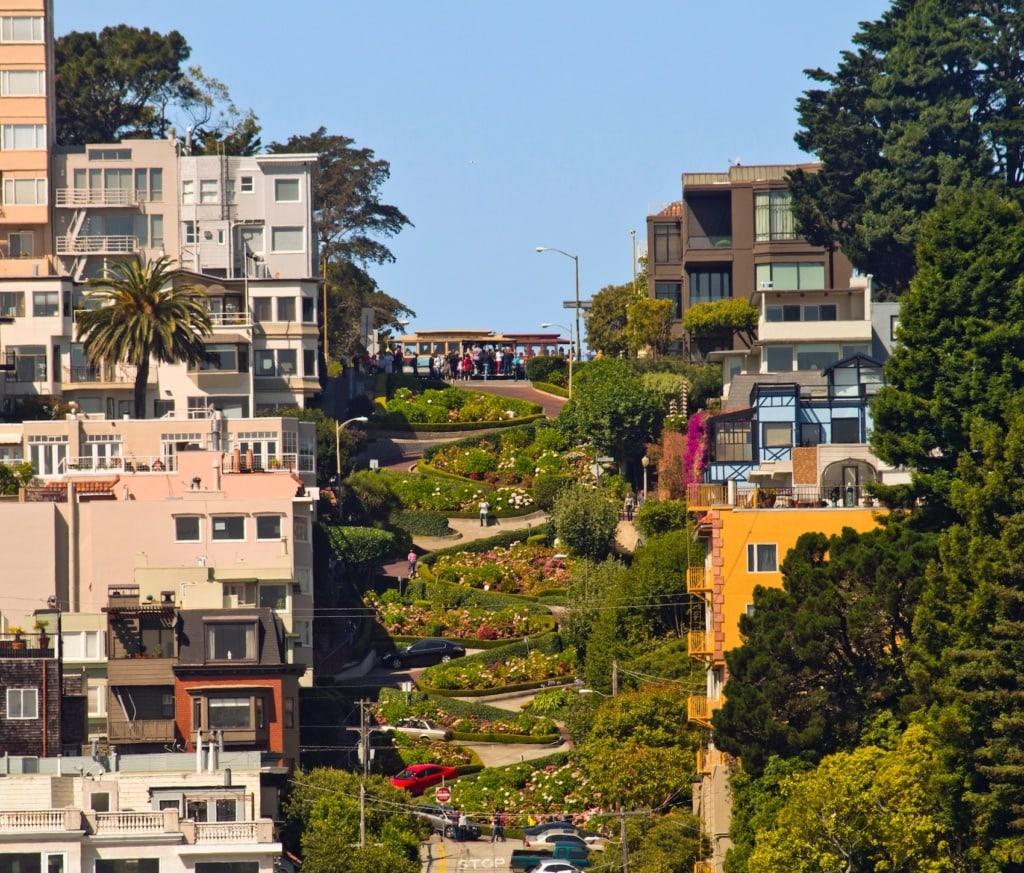 Die Lombard Street in San Francisco ist toll – aber einfach zu voll.