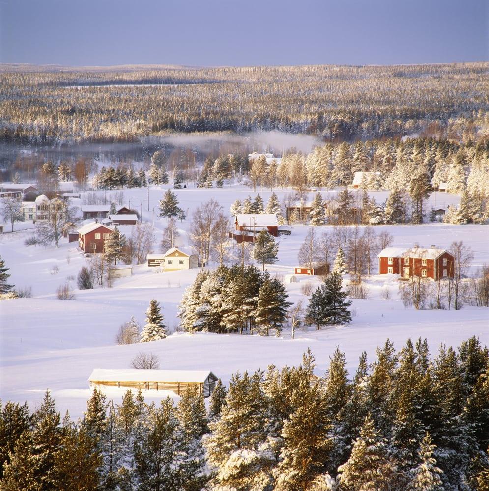 Region Västerbotten in Nordschweden