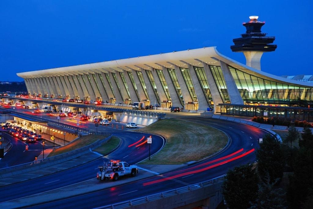 Washington Dulles Airport Außenansicht
