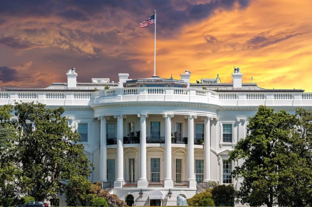 Weiße Haus in Washington DC