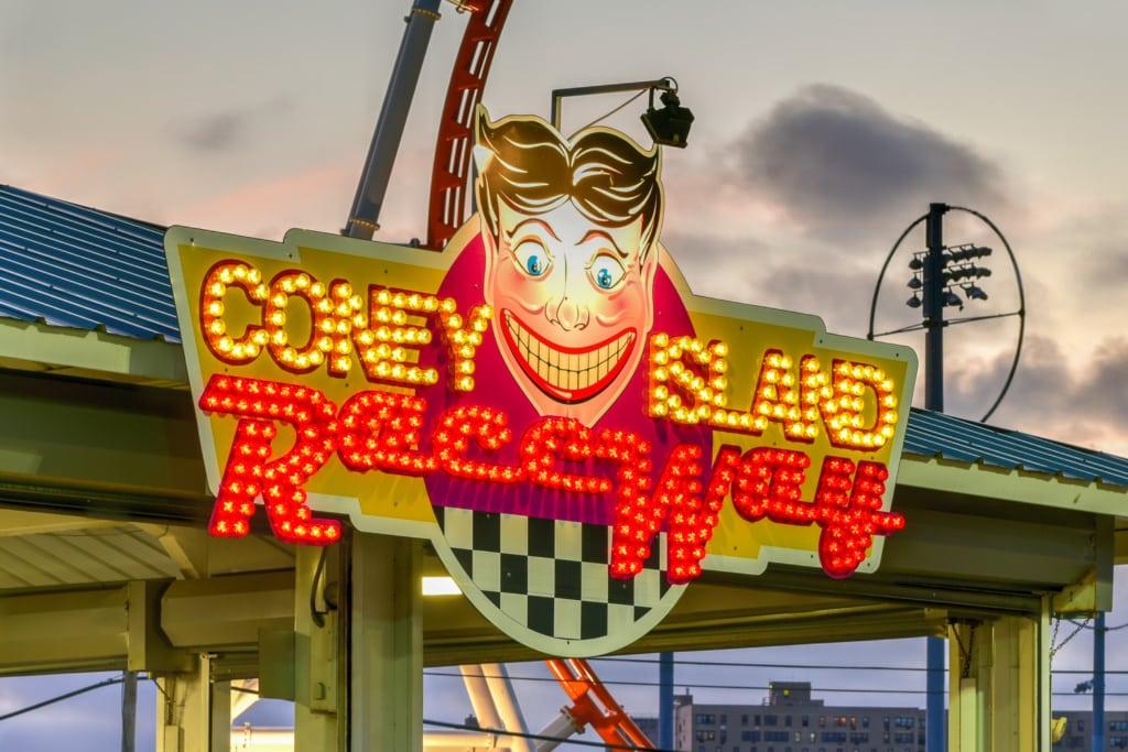 Vergnügungspark auf Coney Island