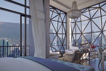 Blick aus dem The Silo Hotel in Kapstadt
