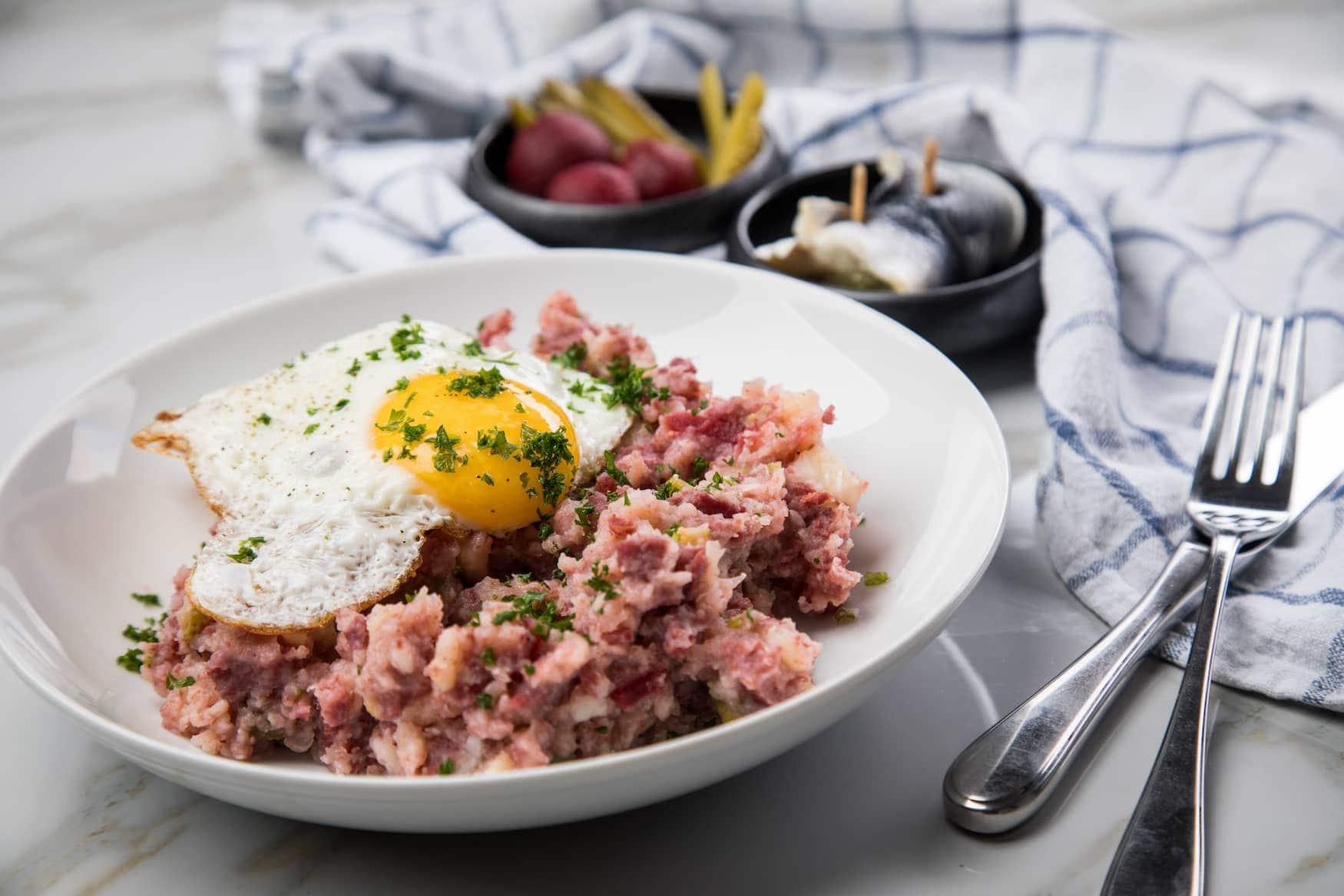 Labskaus - Typische Speise in Schleswig-Holstein