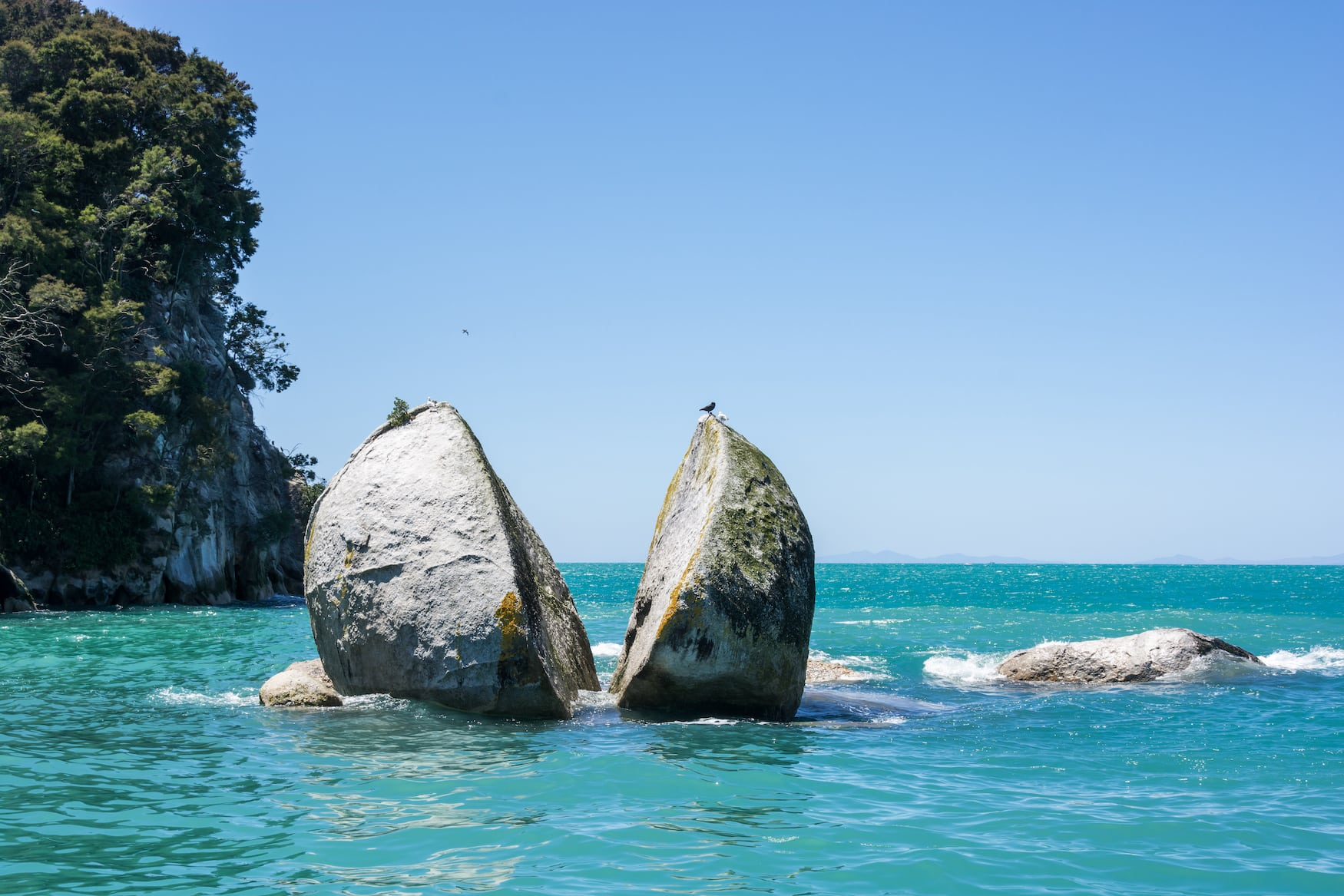 Split Apple Rock in Neuseeland