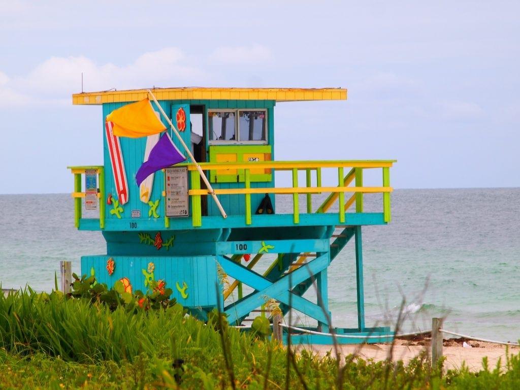 Strand von Miami