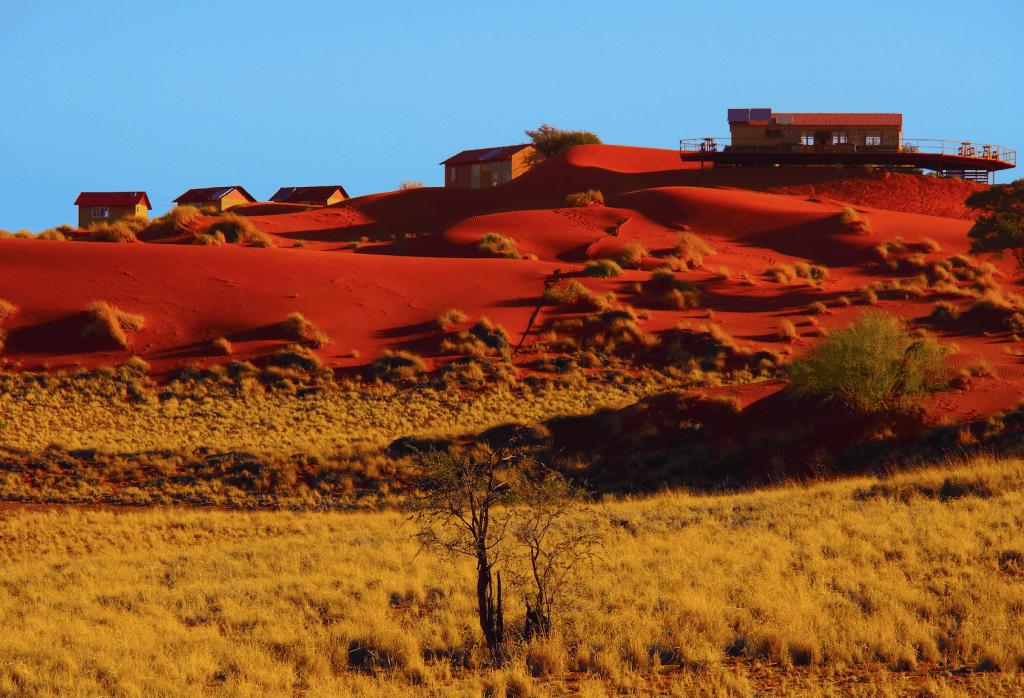 Im Dune Star Camp, in Namibia, hat man die Sterne immer im Blick