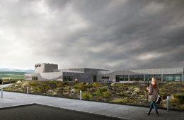 Rendering-Illustration vom neuen Lava Volcano & Earthquake Centre