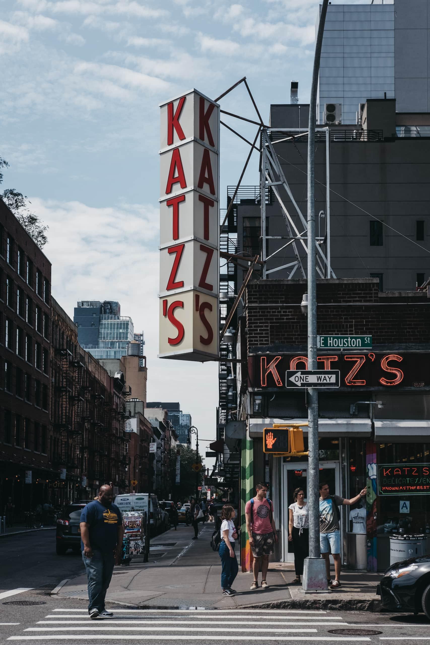 Katz's Delicatessen in New York City