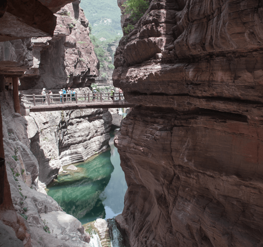Schlucht in Henan
