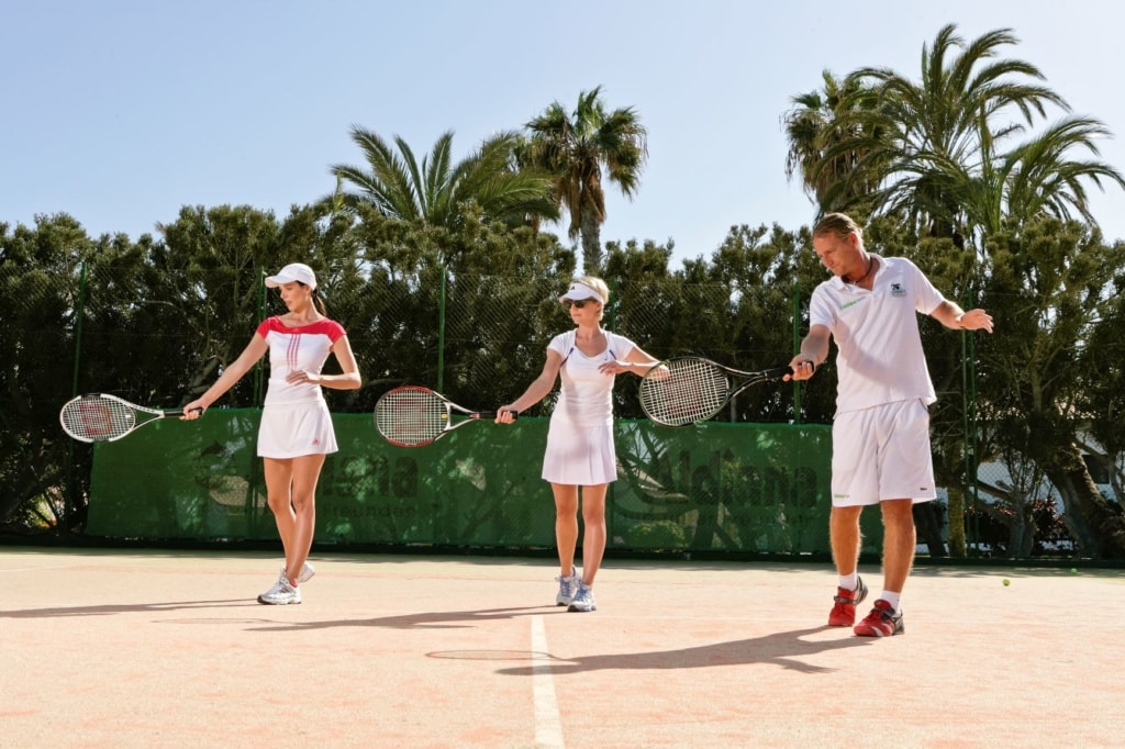 Tenniskurs im Club Aldiana auf Fuerteventura